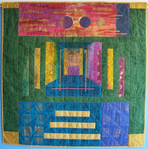 doorkeepers quilt by rita summers - photo 2
