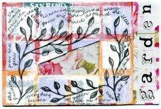 Rose postcard by Rita Summers