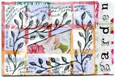 Rose postcard by Rita Summers