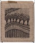 Earthsongs 1 - Drawing on Paper Bag - Rita Summers
