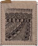 Earthsongs 3 - Drawing on Paper Bag - Rita Summers