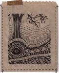 Earthsongs 4 - Drawing on Paper Bag - Rita Summers