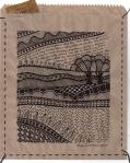 Earthsongs 5 - Drawing on Paper Bag - Rita Summers