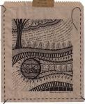 Earthsongs 6 - Drawing on Paper Bag - Rita Summers
