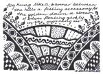 small art 1 - like a banner  -  rita summers