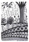small art 1 - the rain falls  -  rita summers