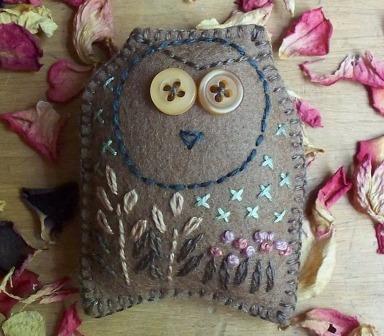 birdsong - brown owl 1 - rita summers