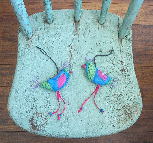 funky little birds 1 + 2, a - rita summers