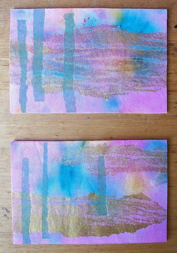 postcards 6 + 7 - rita summers