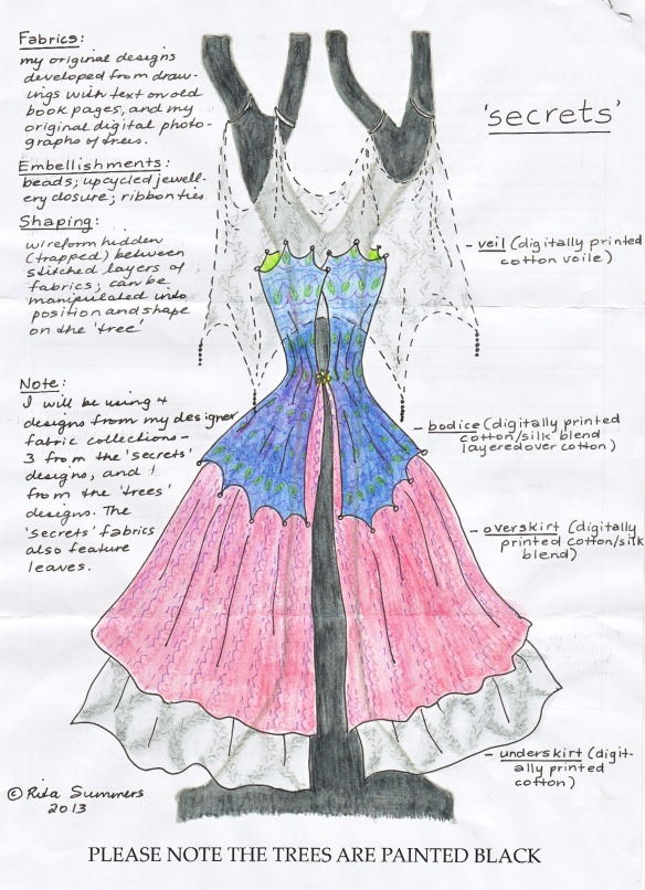 secrets - designed and drawn by rita summers 2013