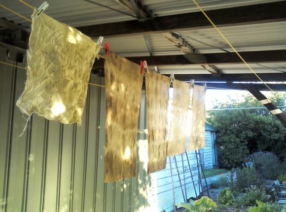 walnut dyed silk 4 - rita summers