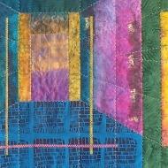 doorkeepers quilt - rita summers - detail 1a