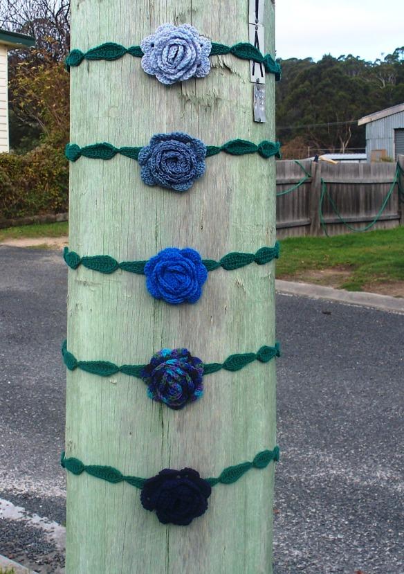 roses are blue - stitchedupmama 2013