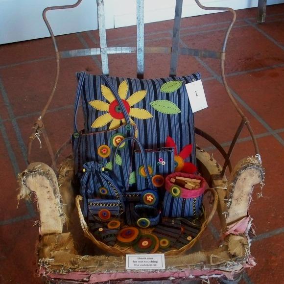 upcycled textile art 3