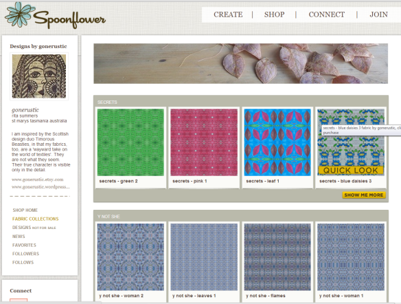 gonerustic spoonflower screenshot