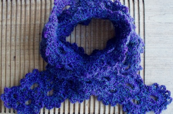 queen anne's lace scarf 4b - rita summers 2013
