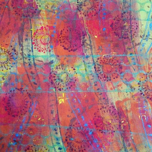 art cloth 1 - rita summers 2013