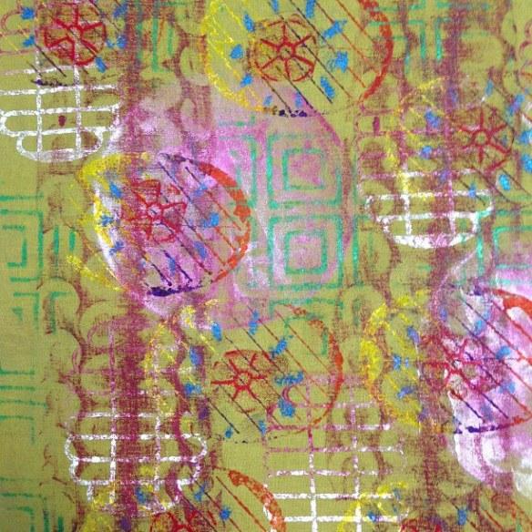 art cloth 5 - rita summers 2013