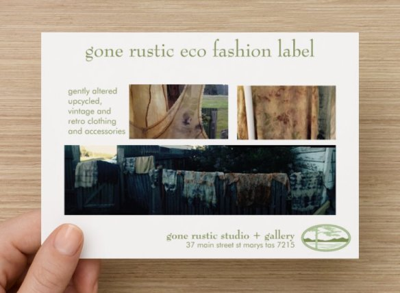 invitation - front - gone rustic