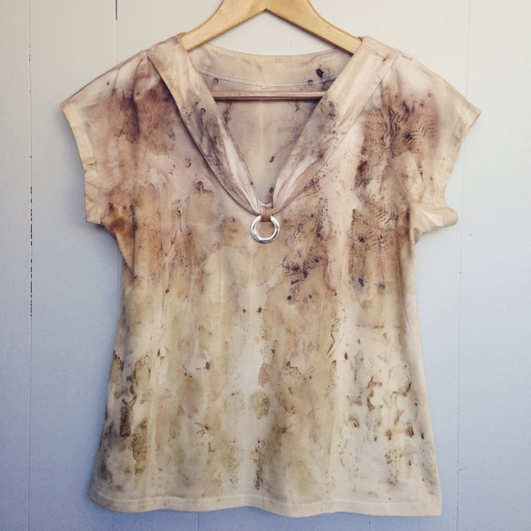 eco dyed top